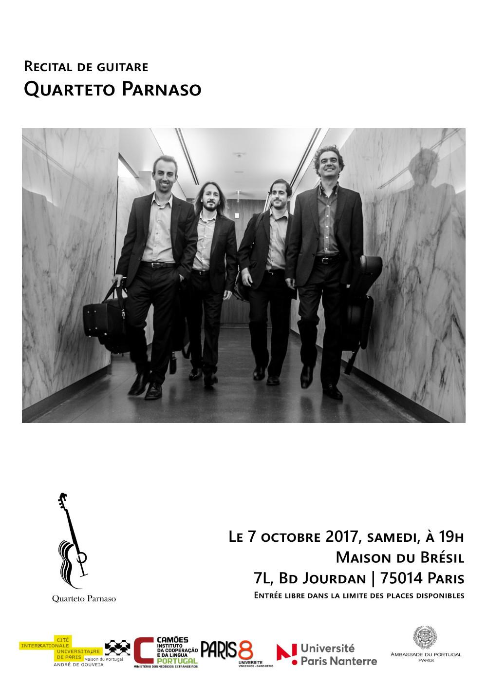 2017.10.07 Quarteto Parnaso